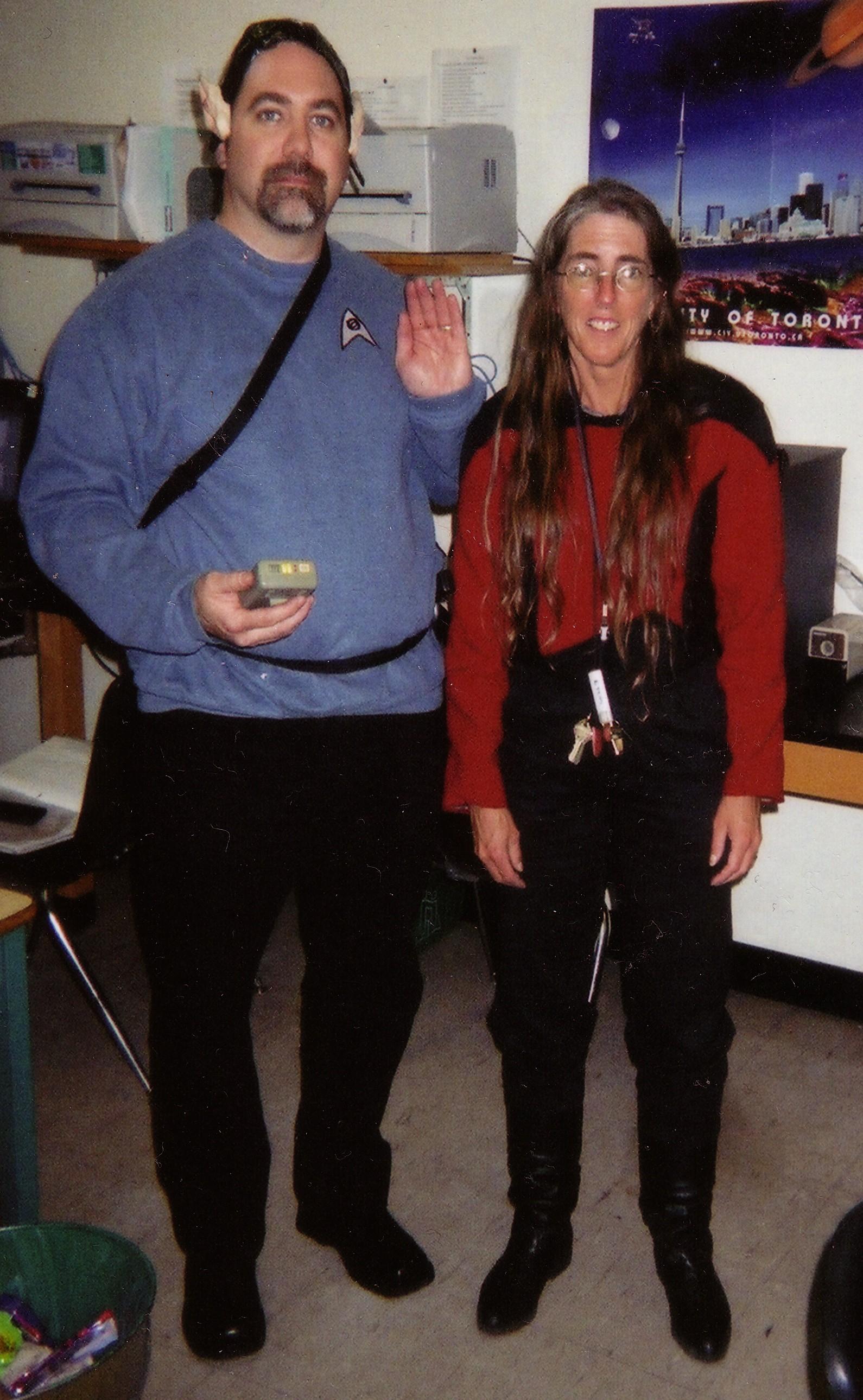 Star Trek convention habitues