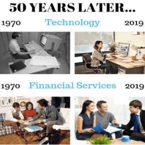 Technology now and then