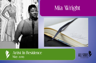 Mia Wright: Poetry and Connection at All Souls