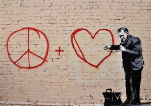 Peace Feature Bansky