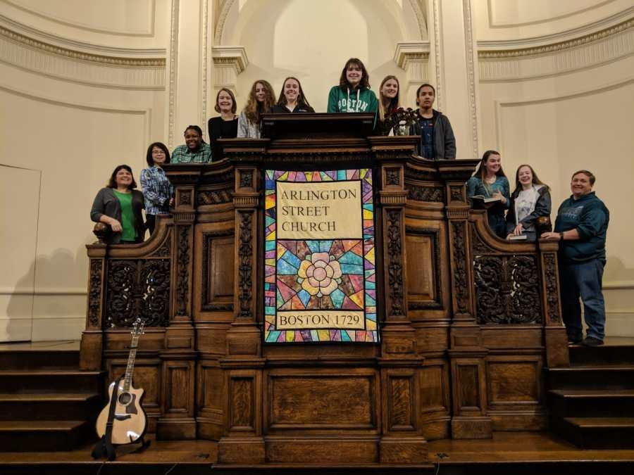 Boston Pilgrimage 2019 Coming of Age Arlington Street Church