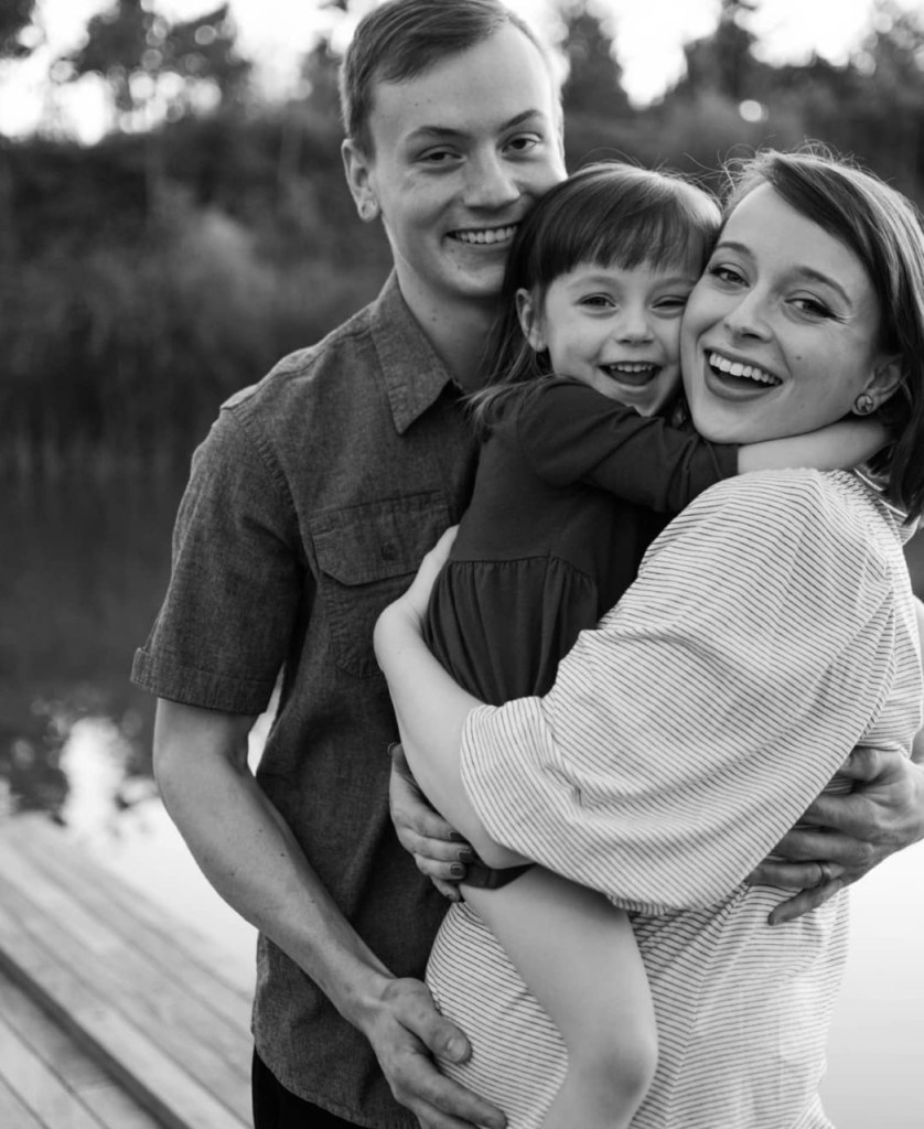 Caleb, Violet and Berkeley Shouse