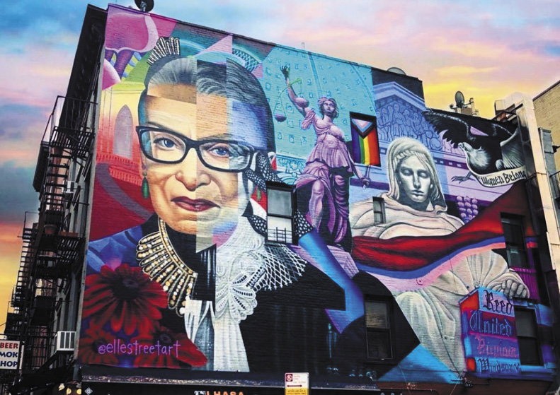 Ruth Bader Ginsburg In Her Honor