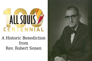 A Historic Benediction