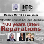 100 Years Later: A Reparations discussion & conversation around racial healing.