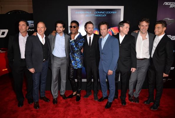 aaron paul need for speed premiere