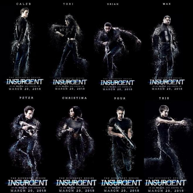 Insurgent_Character_Posters