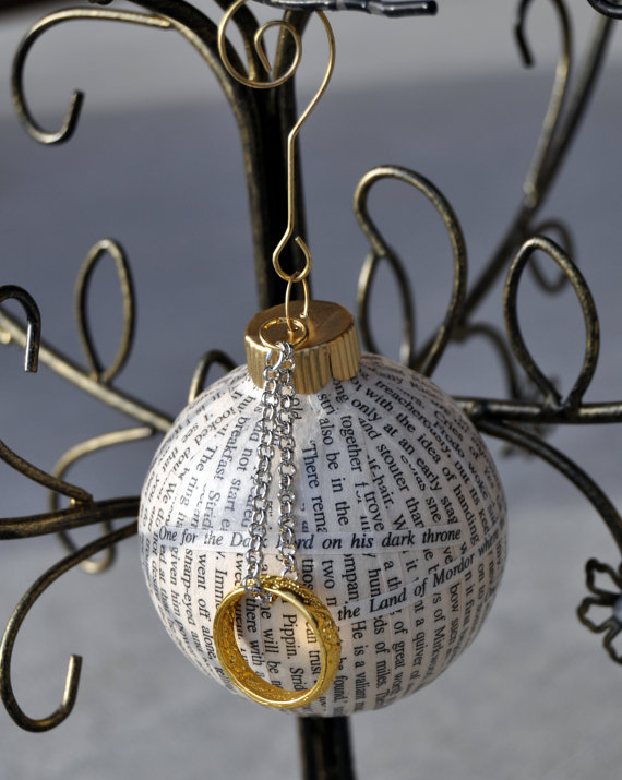 Lord Of The Rings Christmas Ornaments.Fantastic Christmas Book Ornaments For Every Literary Lover