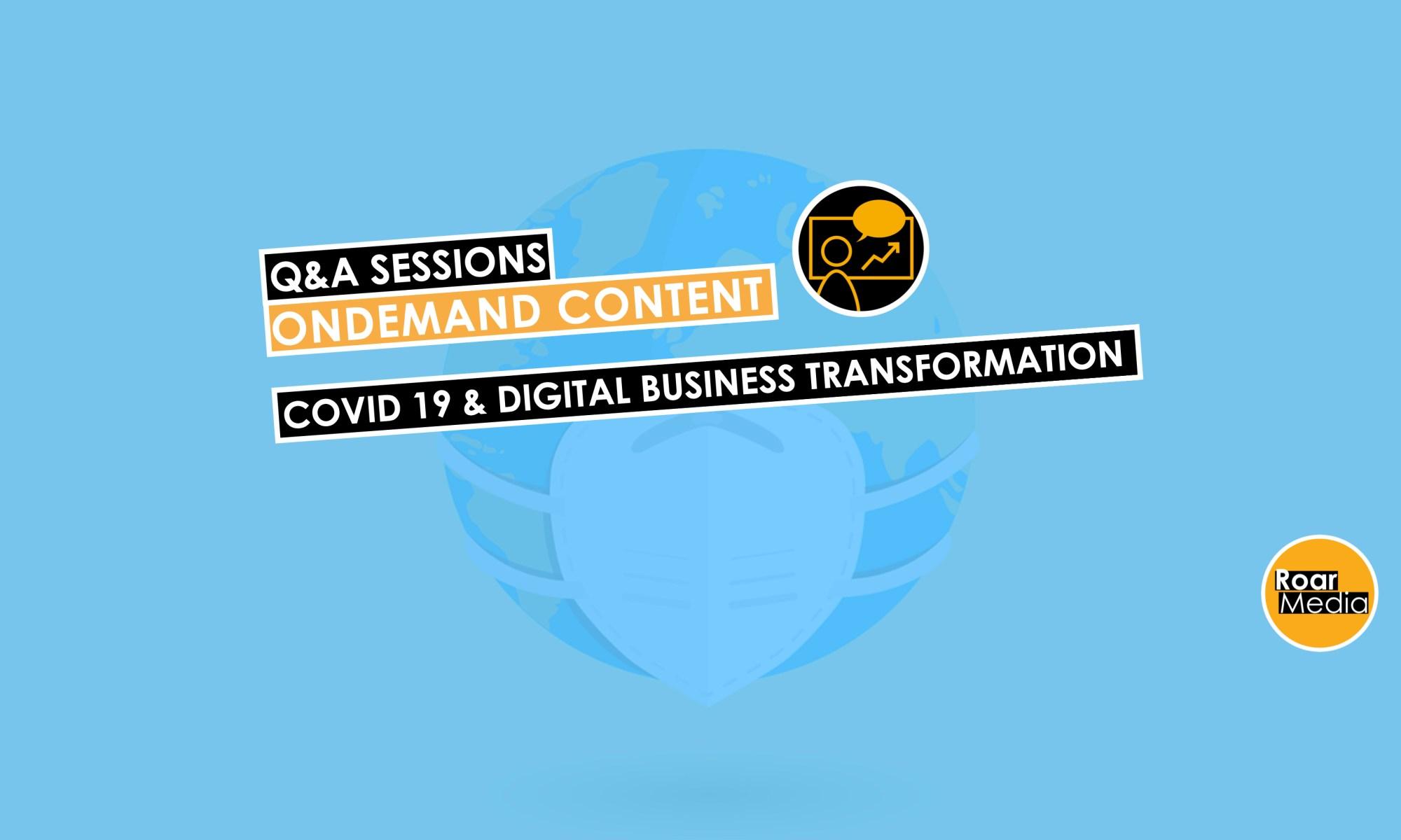 Covid 19 Impact on Digital Business Transformation
