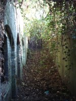 This is one of 'sets' of tunnels. This was one of 3 of the ammunition stores.