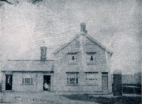 Pre construction of the village pump in 1889.