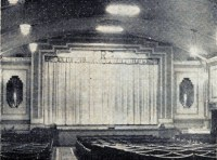 The cinema screen as featured in a Canvey paper 1964. Photo from the Canvey Archive.