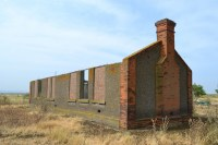 Ruined building at Cliffe munitions factory