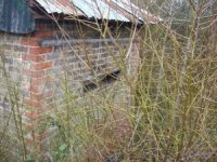 Munitions factory shed at Wat Tyler Country Park