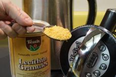 Add lecithin for best results