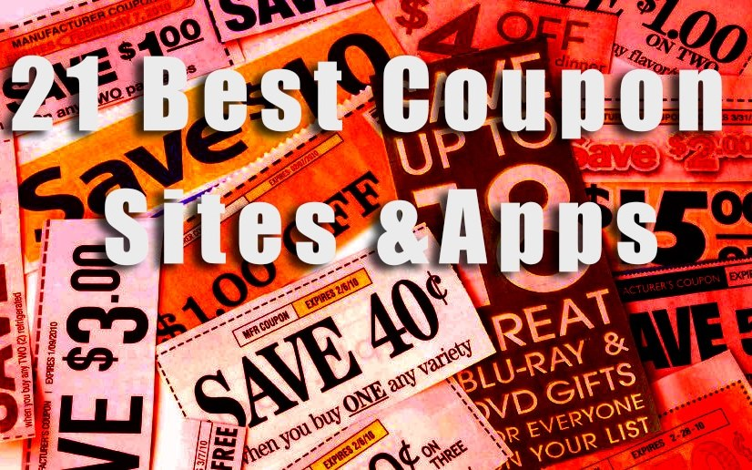 21 Best Coupon Sites and Apps 2017