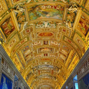 italy itinerary hall of maps vatican museum