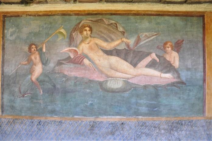 pompeii fresco ruins