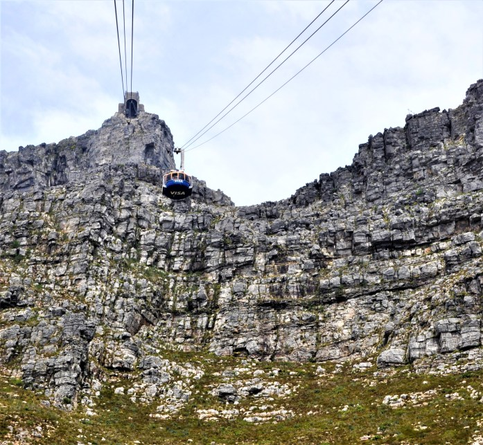 cable car table top mountain cape town