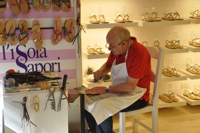 jackie o sandal maker