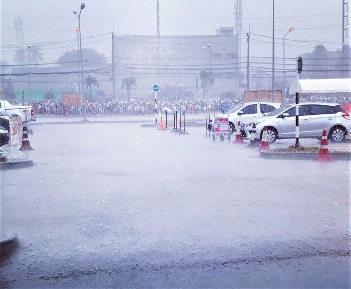 rain in thailand