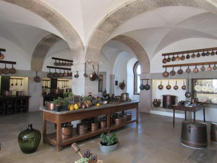 pena palace kitchen