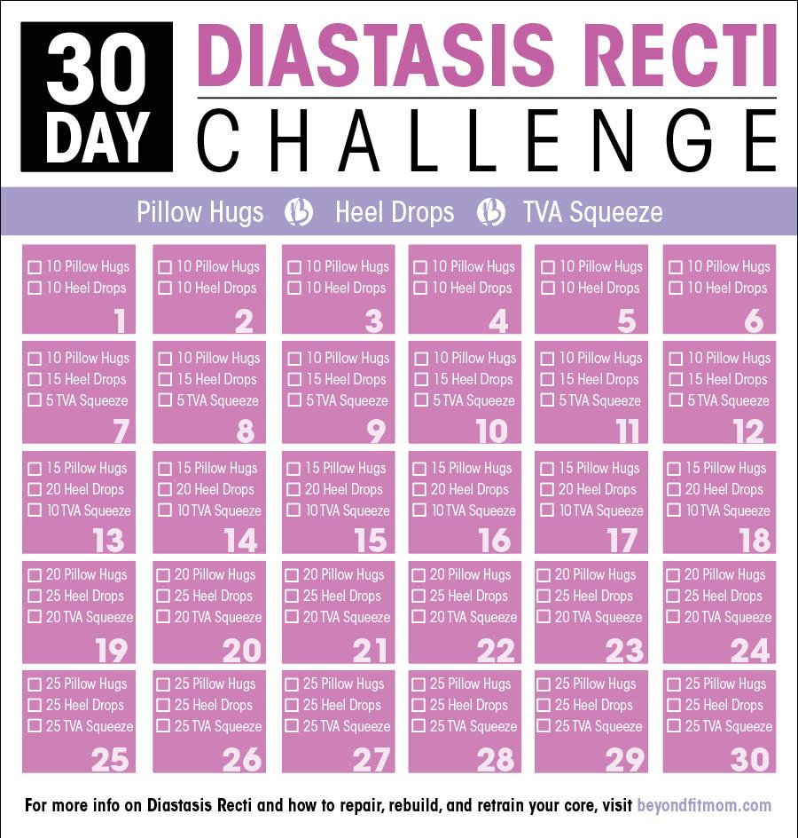Diastasis Recti Exercises Heal