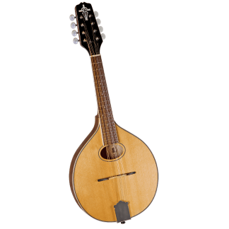 oval hole, D-hole and round hole mandolins
