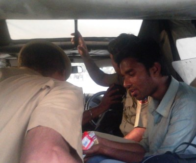 Arzoo Alam in Police Custody