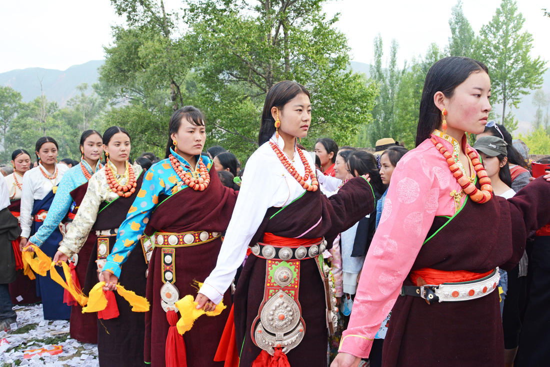 Amdo Tibetan 'Klu rol' Festival — Part II