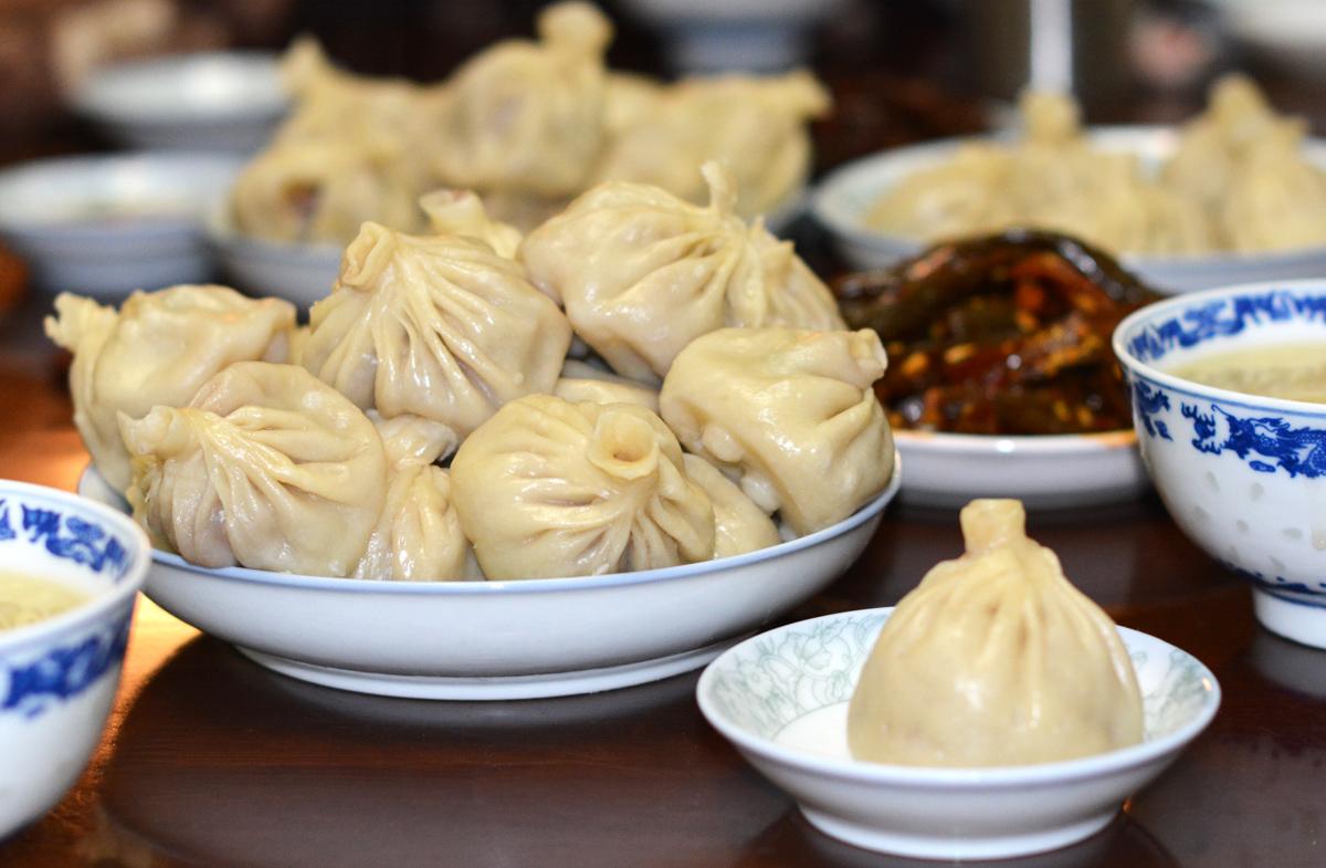 Tibetan yak meat dumplings, losar