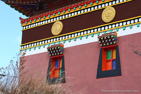 Tibetan temple, Buddhist