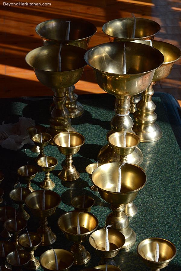 Tibetan butter lamp, Losar prep