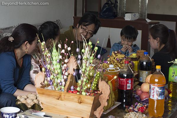 Tibetan food, Tibetan meal, Tibetan people, Losar