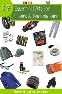 27 Essential Gift Ideas for Hikers & Backpackers