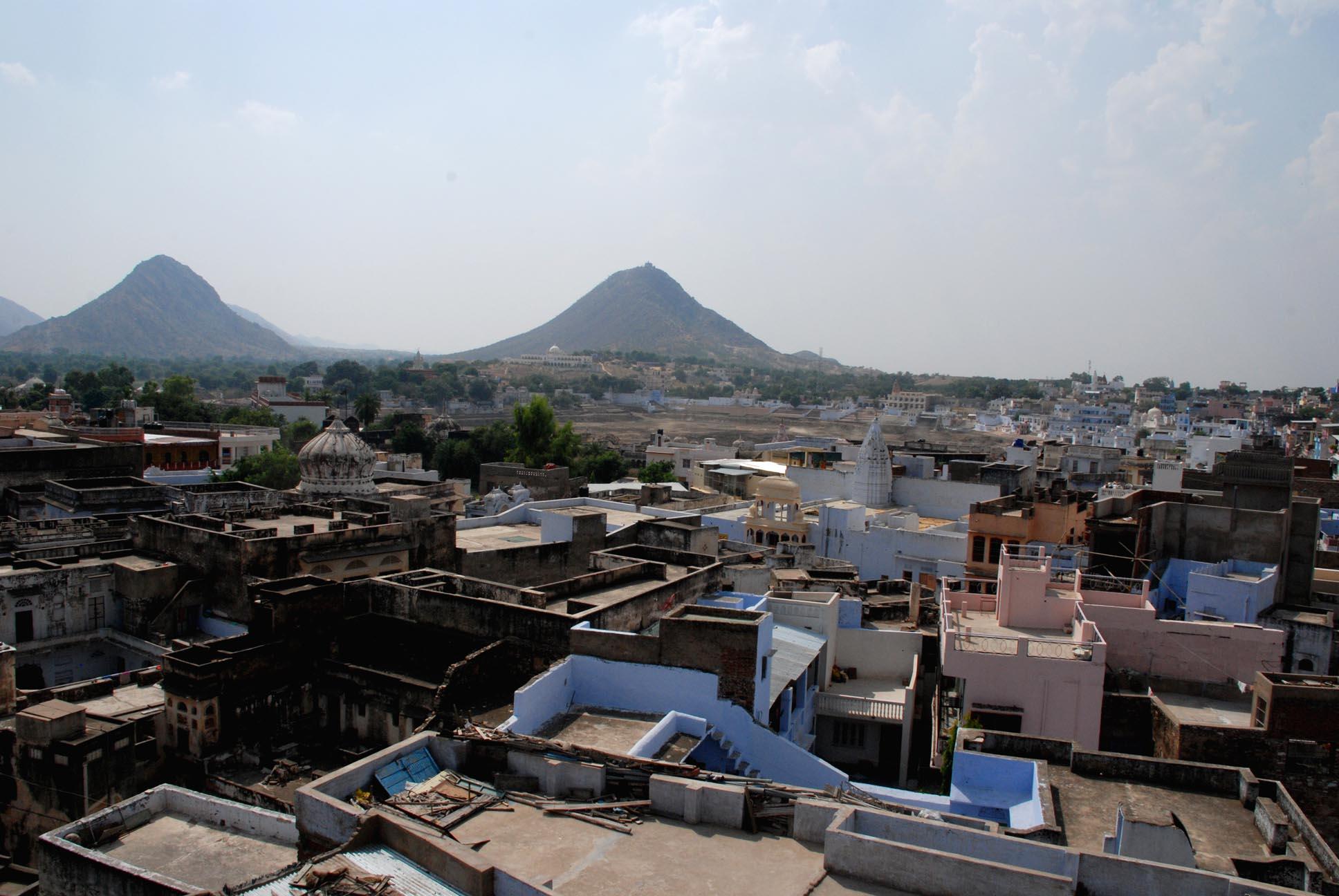 Pushkar From the terrace