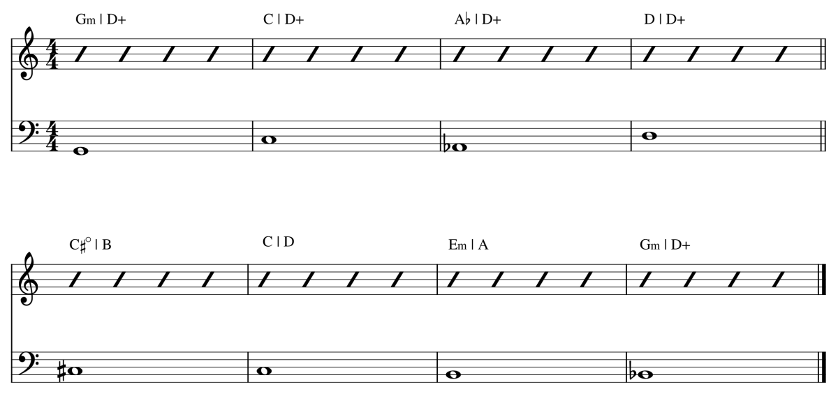 Polychords can be used as single or separate chord structures. Learn some of the ways in which you can use them in your music.
