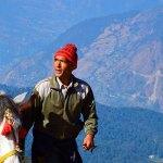 mountain view himalayas asia