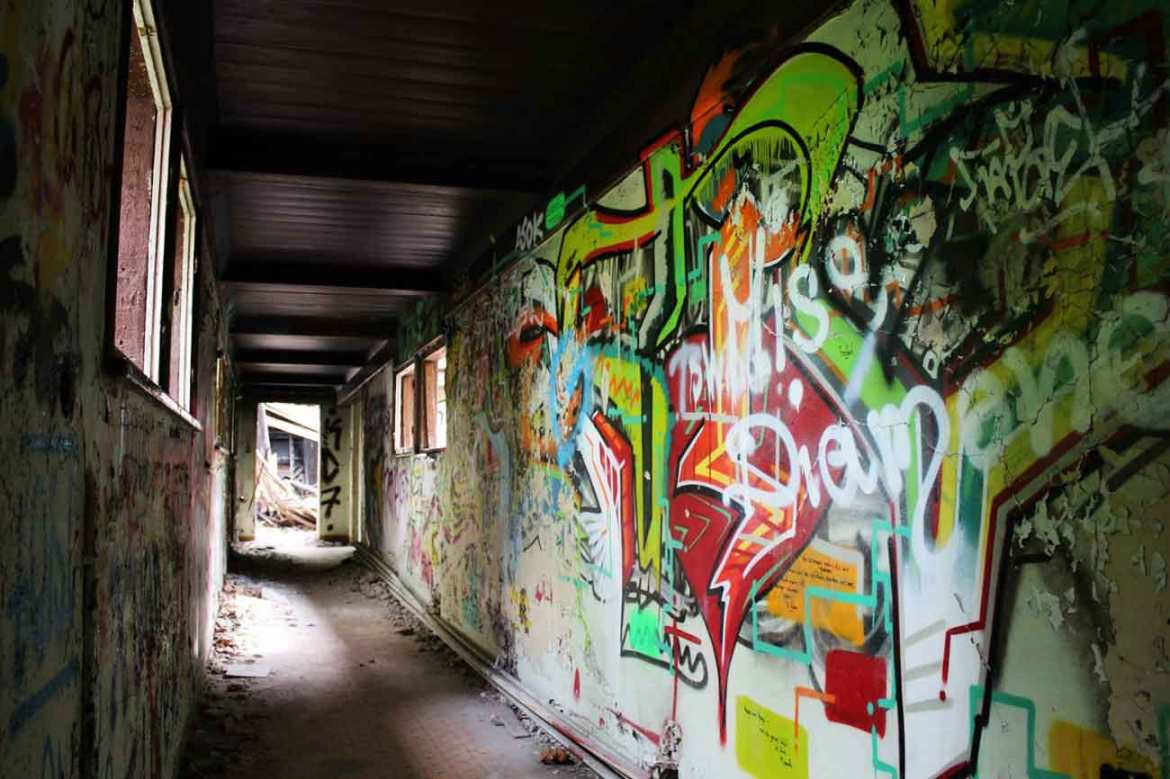 Abandoned Hospitals Hippie Hideouts