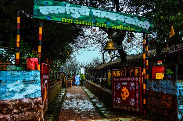 The guru ji in Pandukholi, an ashram in Dwarahat, India
