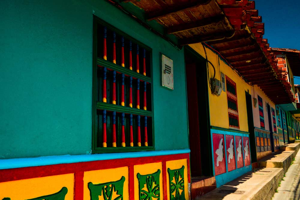 Colorful Guatape, Colombia