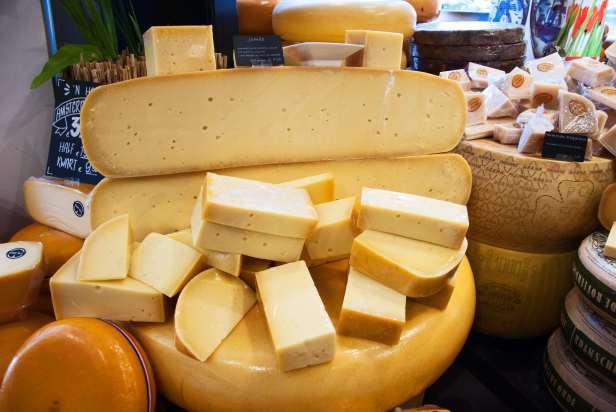 Gouda cheese in Gouda