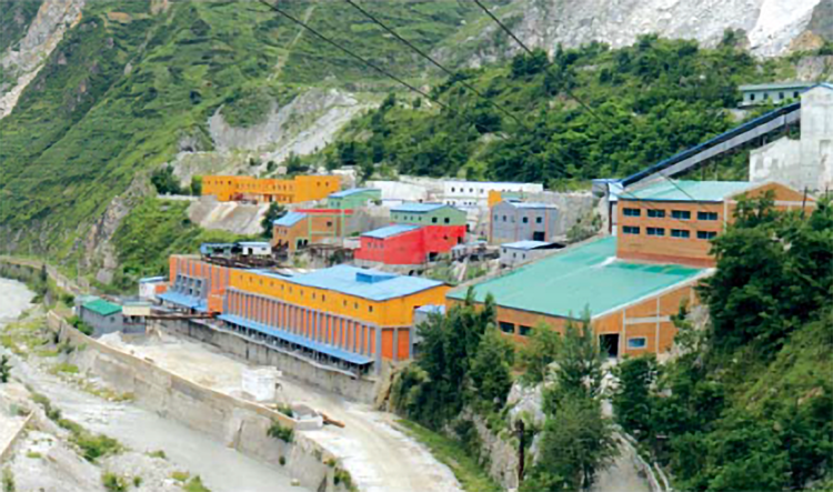 Ryongyang Mine Processing Facilities (Foreign Trade, 2018.01.01)