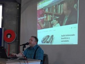Allan Tépper, hosting a seminar in Madrid, Spain, 2017