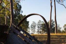 Old Cart Wheel Rim