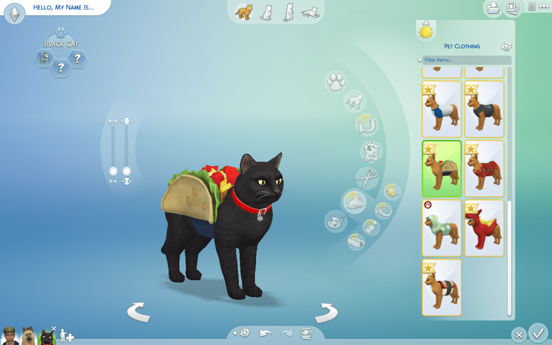 how to create a pet for your existing sims household