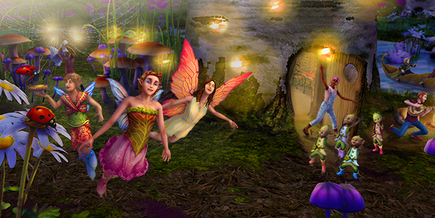 Exclusive Preview of the Magical Rainforest from The Sims FreePlay Holiday Update