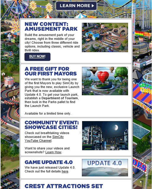 SimCity May Newsletter