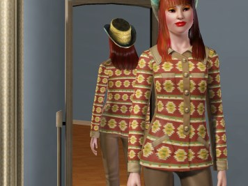 Asymmetrical Cowgirl Shirt