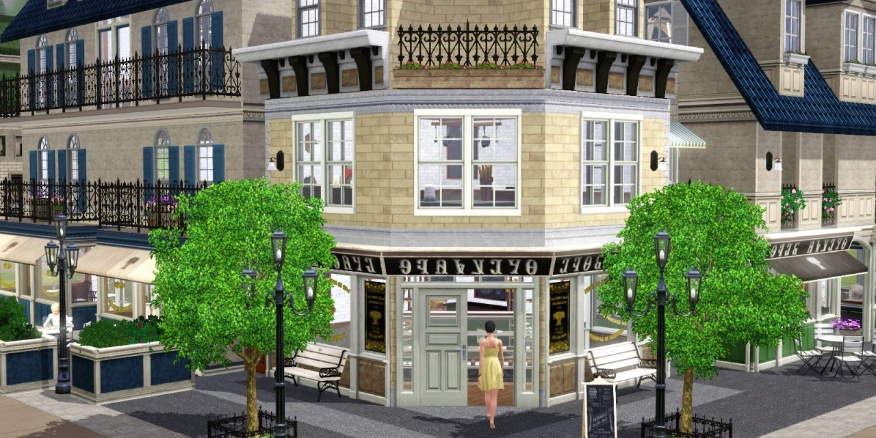 The Sims 3 Store: Deliciously Indulgent Bakery Blog